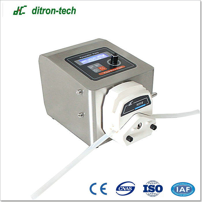 High precision Step motor drive flow display peristaltic pump