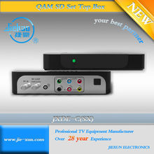 dvb-c tv box only with A/V output