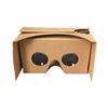 Brown Color Google Cardboard VR 3D Glasses Brand Available Virtual Reality Headsets