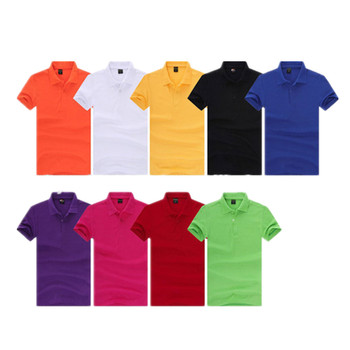cotton mens short sleeve polo t shirt Rib collar polo t shirt for men  factory price c6ee64d94d