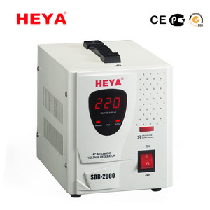 Home Use Single Phase Relay Type Automatic AC Power Voltage Regulator 220V 1000VA
