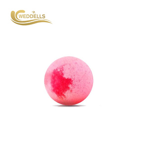 hot sale bath bombs individually wrapped ring cherry blossom bath bombs