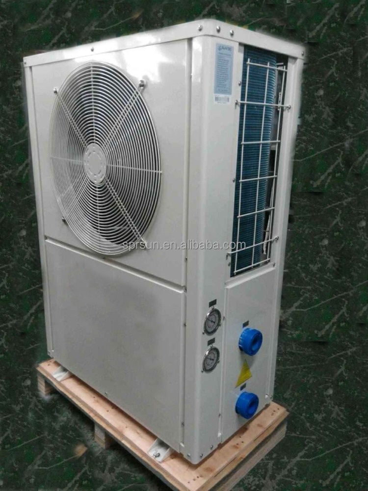 EU standard swimming pool heat pump water heater from reputed manufacture in China