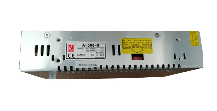led power supply 5v 60a 300w indoor and outdoor display screen switch power supply CL A-300-5