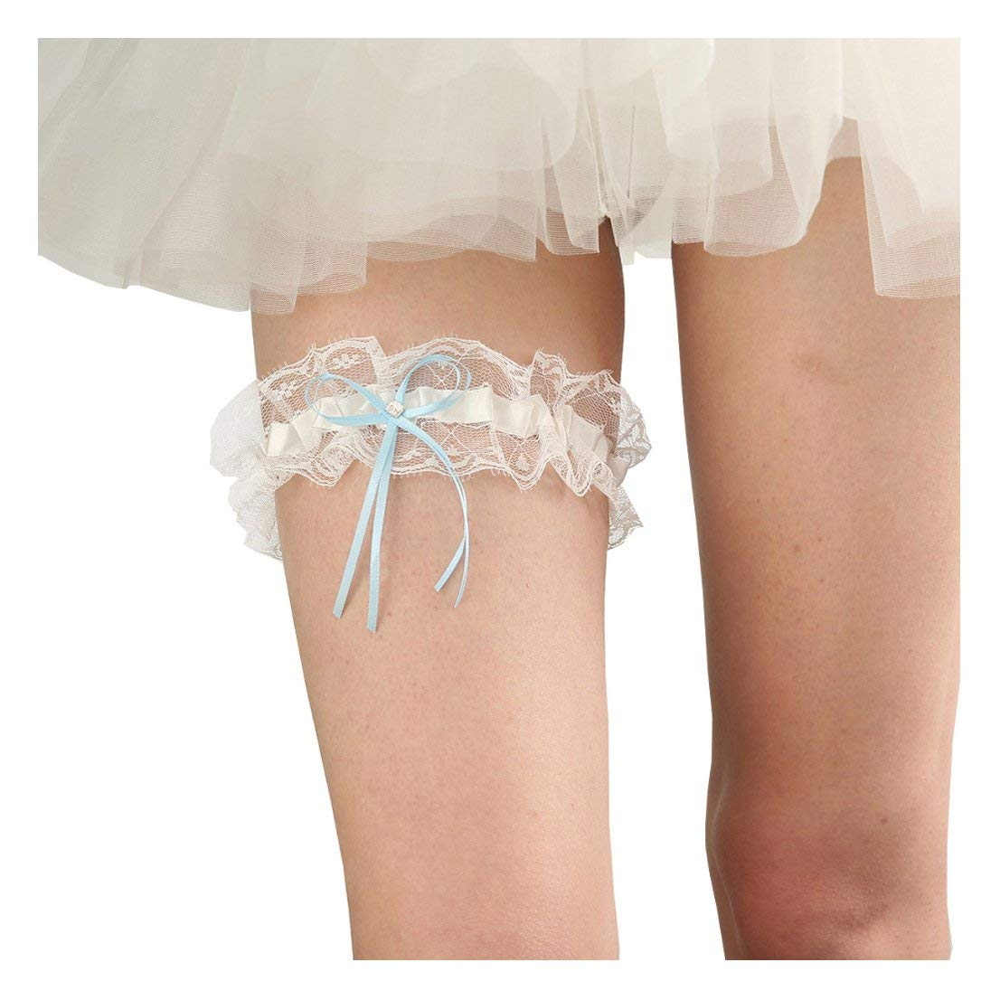 Get Quotations · Women Wedding Bridal Garter Lace Belt Bridal Legs Ring JW22 b774046ab279
