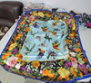 New design 100% silk printed scarf small square 55*55cm