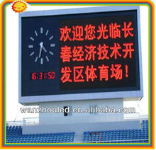 high waterproof!!!!!!!!outdoor P10 single color led moving message screen yellow/amber/orange color