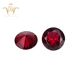 Synthetic Corundum Round Cut red Ruby Gems