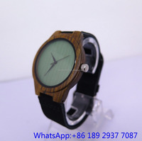 New style many colour Wooden watch for Women and men quartz wood watch