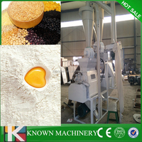 Full automatic low price indian Corn, wheat, rice, soybean,sorghum,and other cereals flour mill plant machinery