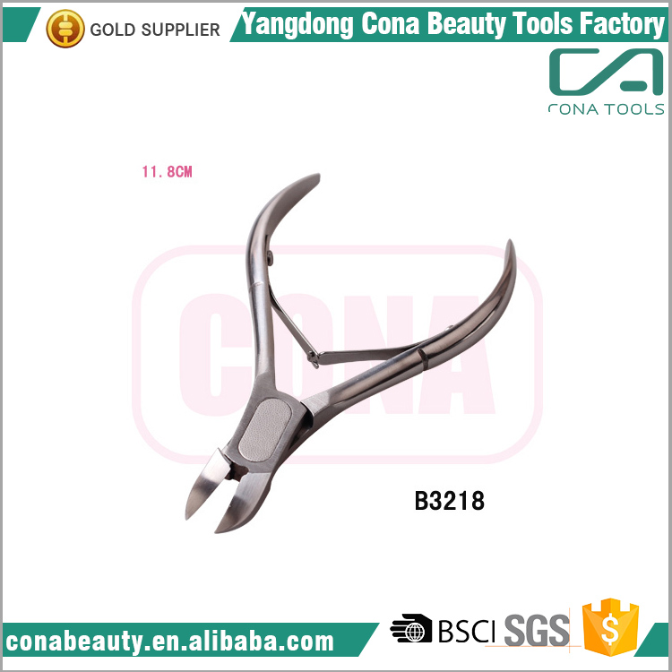 Dull Finish Stainless Steel Nail Professional Acrylic nail care tool cuticle nipper