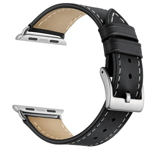 b373872a784 Genuine Leather High Quality Multi Colors Watch Strap Compatible for Apple Watch  Bands 42mm 38mm