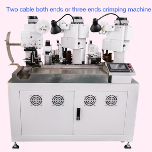 Wire Terminal Connector Crimping Machine