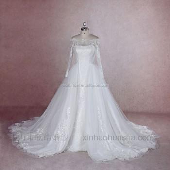 Xy-16131 Off Shoulder Mermaid & Ball Gown 2 Ways Detachable Skirt ...