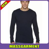 High Quality Men's Long Sleeve Thermal T Shirt Cheap Plain Blank T Shirts Wholesale