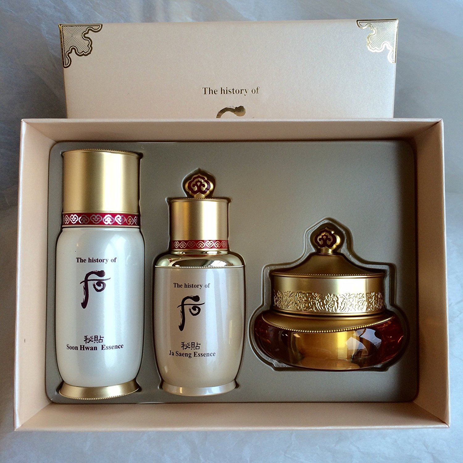 2015 New Edition - The history of Whoo Bichup Best Selling Anti-Aging Special Set