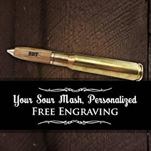 Used Tennessee Sour Mash Whiskey Barrel Spent .50 Caliber Machine Gun Bullet Cartridge Writing Pen