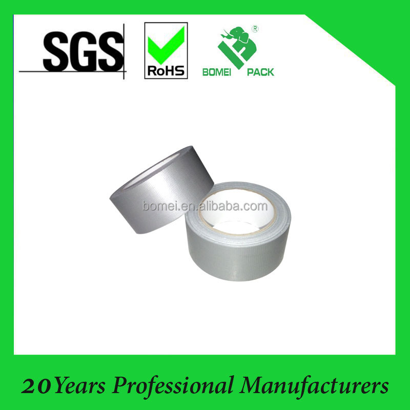 Wholesale silver color custom printed duct tape manufacturer