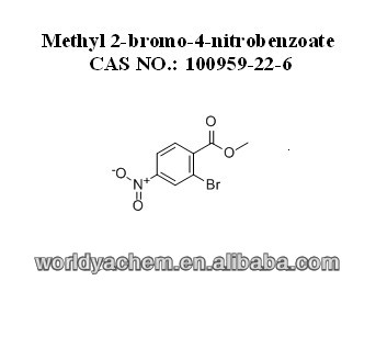 Metil 2-bromo-4-nitrobenzoate CAS NO.: 100959-22-6