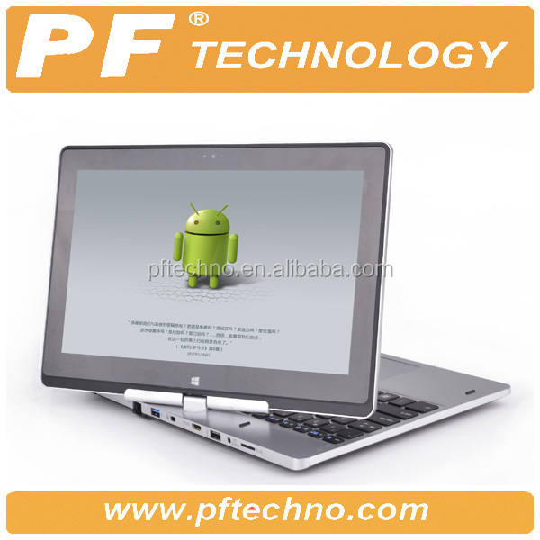 I3 core laptop with rotatable touch screen panel