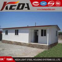 Cheap Prefabricated House as Temporary Home