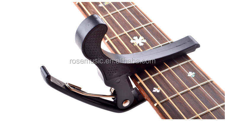 Musical instrument accessories High quality zinc alloy guitar capo