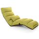 Visi Floor Folding Purple Upholstered Chaise Lounge Living Room Furniture Foldable Legless Nap Sofa Modern Lazy Day Bed Chair