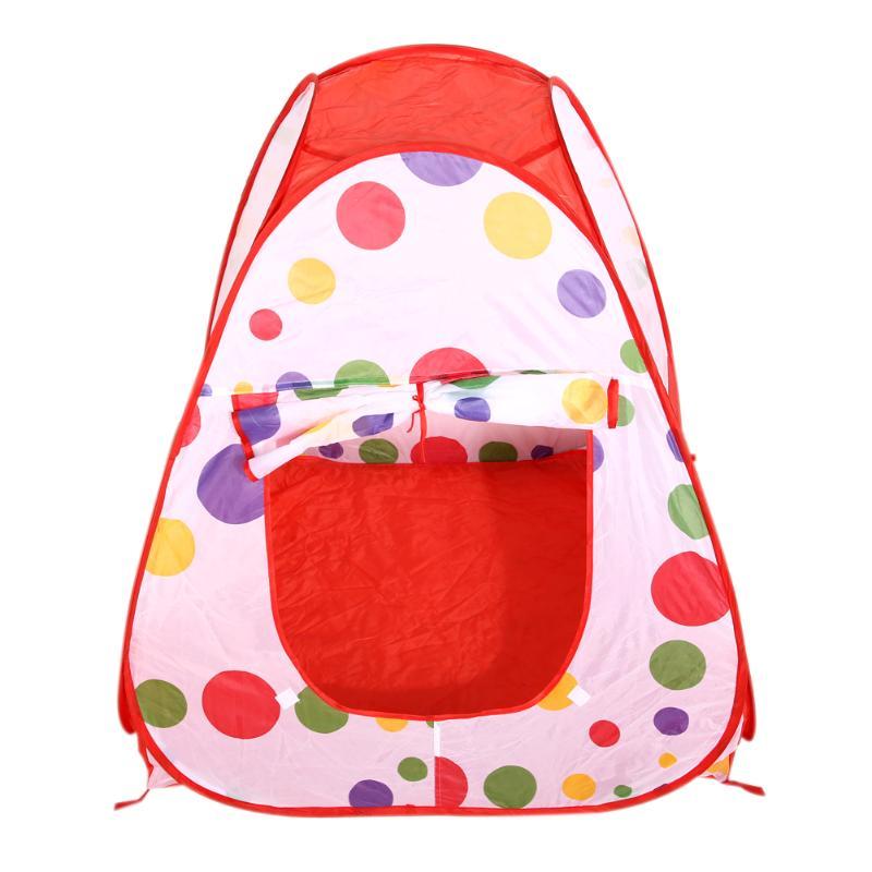 Детская игровая палатка, складывающаяся палатка для бассейна с мячом для мальчиков и девочек, портативная складная палатка для игр, Детская...(Китай)