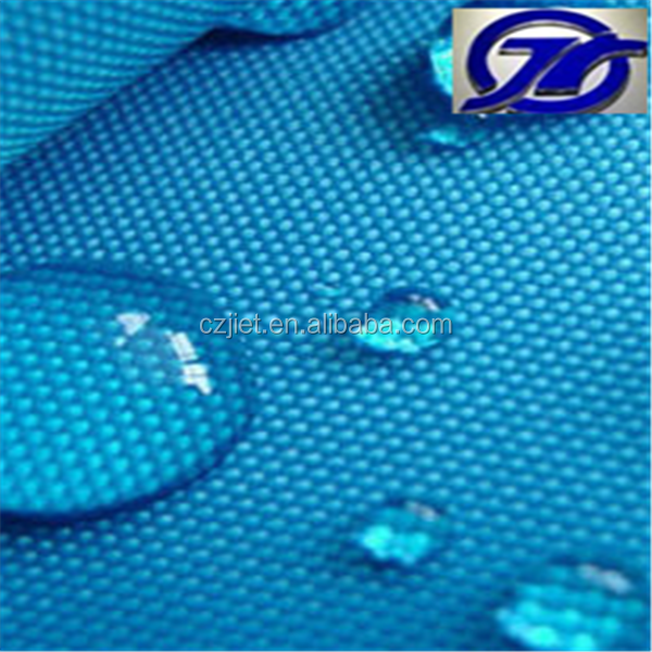 420D waterproof durable cross jacquard polyester oxford fabric with PU/PVC coating for luggage