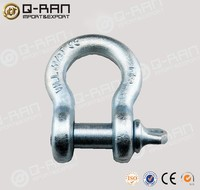 Galvanized Drop Forged Anchor Swivel Shackle