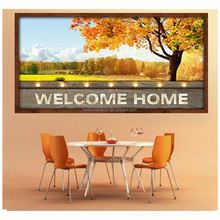 Fall landscape wall art decoration frame painting