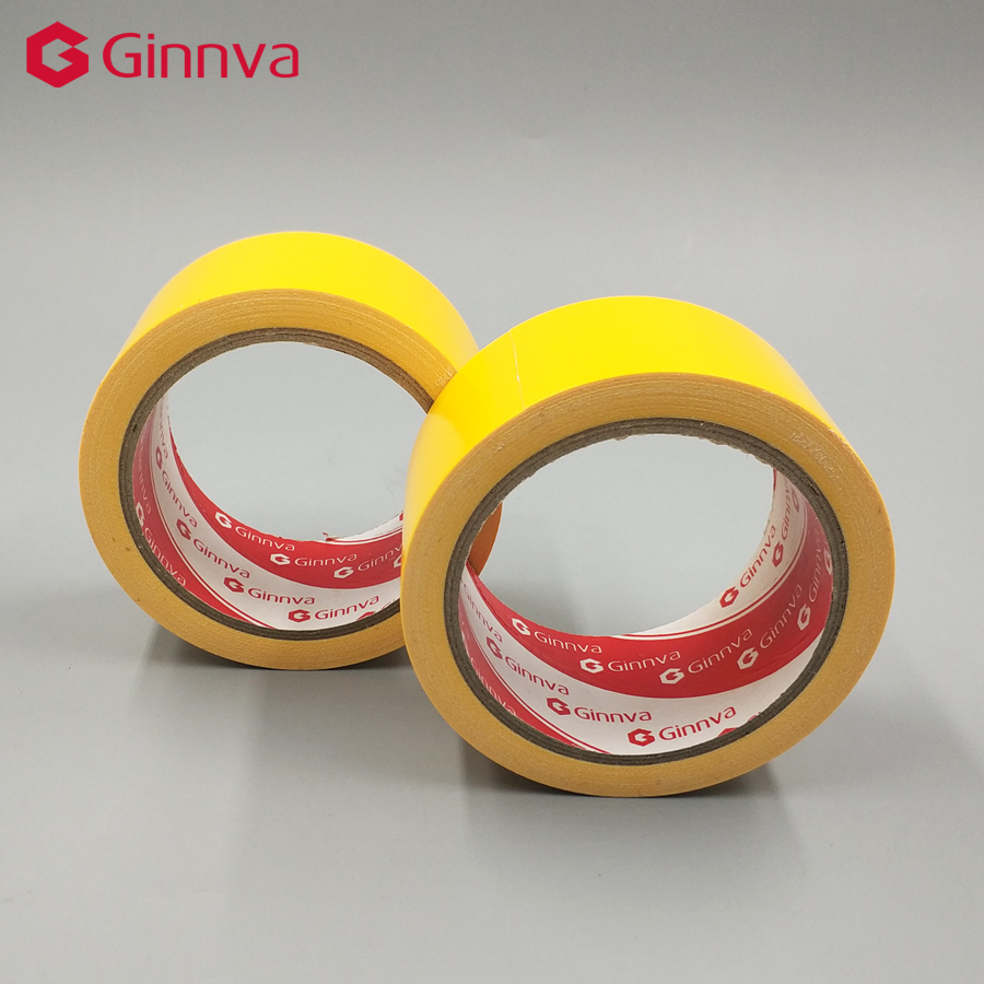 Black Adhesive Cloth Fabric Stick Tape 43mm for Sealing Packing