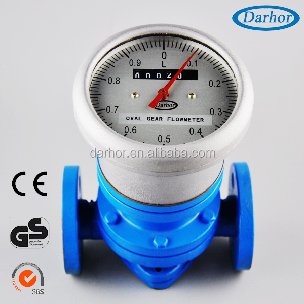 DH900 Heavy Fuel Oil Flow Meter 0.2% Accuracy