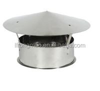 High quality stainless Steel chimney cowl for fireplace/ wood heater