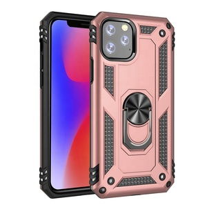 2019 new arrivals armor magnetic 360 degree kickstand shockproof phone case for iphone 11