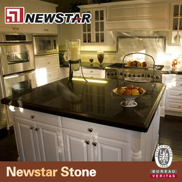 Newstar fabricaci n china negro granito encimera precio for Precio metro granito