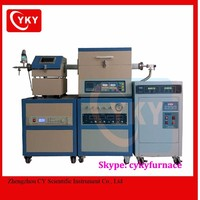 PE-CVD tube furnace system for deposition of Graphene, single-wall carbon nanotubes, multi-wall carbon nanotubes