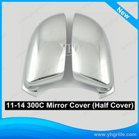 Car parts 11-14 Chrysler 300C chrome auto side Mirror Cover (Half Cover)