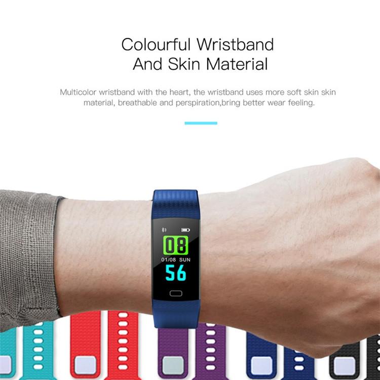 Y5 Color Screen Wristband Watch Waterproof Smart Bracelet