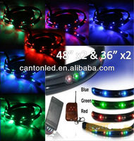Color changing led underbody kit led undercar kit led underglow kits