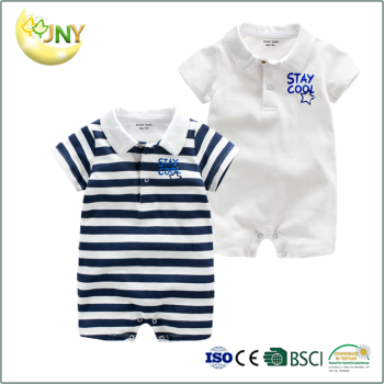 8b1afa855968 New design newborn baby clothes printing cotton kids boy romper wholesale
