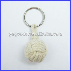 Sailor Knot or Chinese Knot Keychain