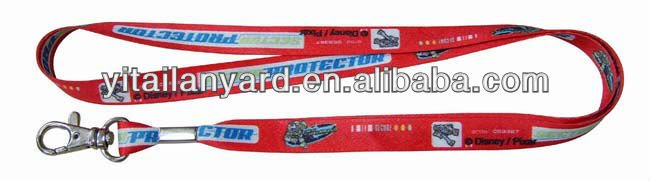 Offer polyester satin printed lanyard with customized logo