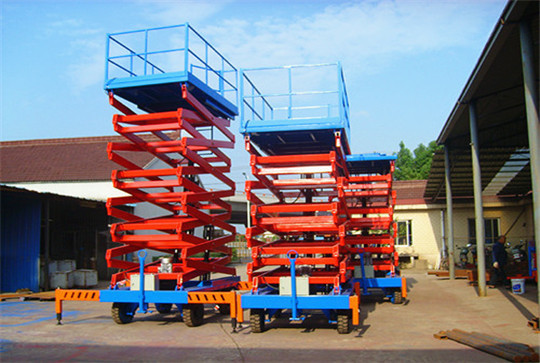 High Quality Movable Small Platform Scissor small boom lifts
