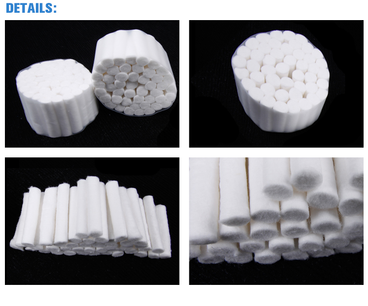 high quality oem dental cotton roll with Trade Assurance