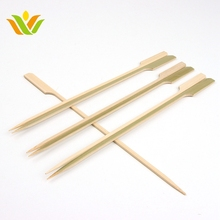 High Quality Paddle Sticks For BBQ Grill Kebab Barbeque Bamboo Skewers