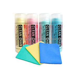 Synthetic chamois,Clean Cham,PVA Chamois Car Washing Cloth Cleaning Towel Wipes Magic Chamois Leather Size:66x43x0.2 cm