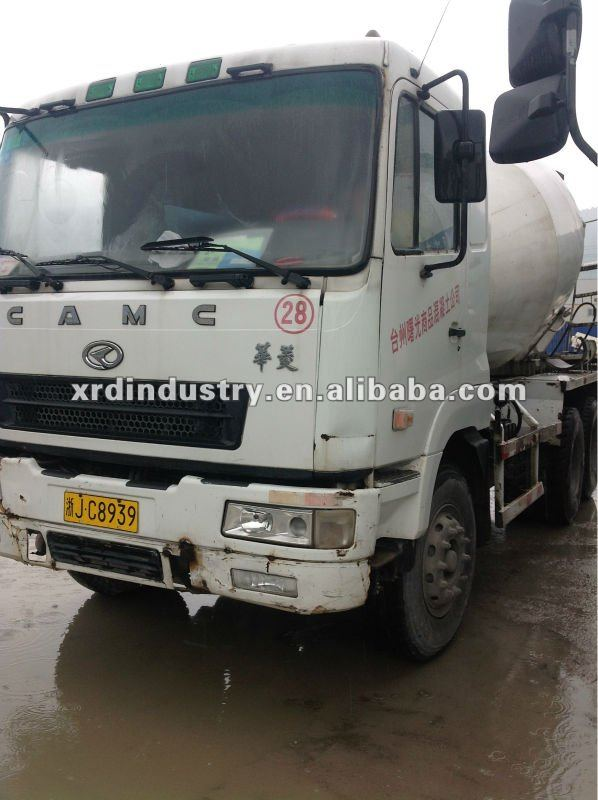 Used Second Hand 6cbm CAMC Concrete Mixer Truck