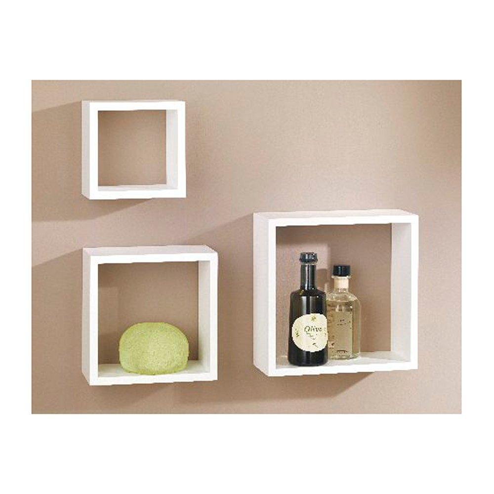 Marvelous Buy Dolle Decorative Cube Floating Shelf Set White Set Best Image Libraries Barepthycampuscom