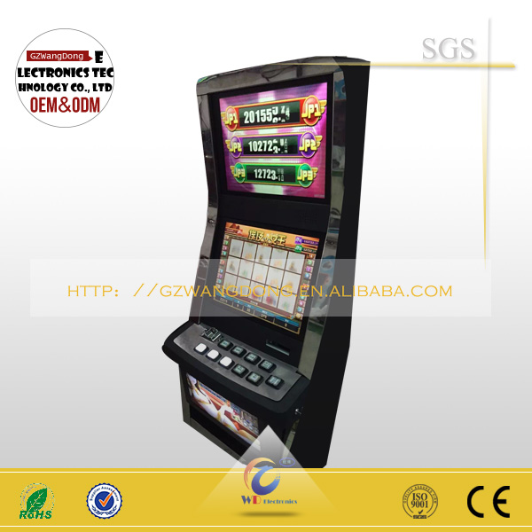 Slot machine certification